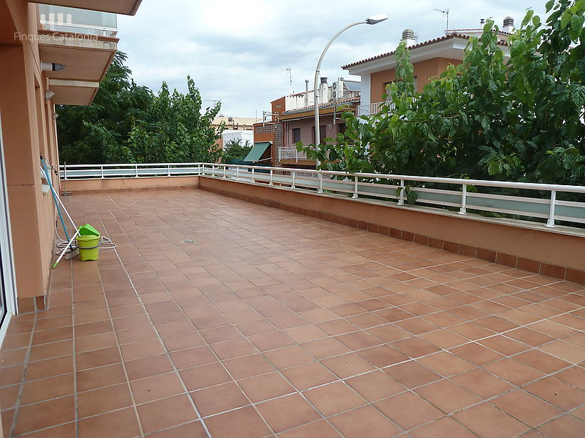 Apartment with large terrace in Sant Antoni de Calonge