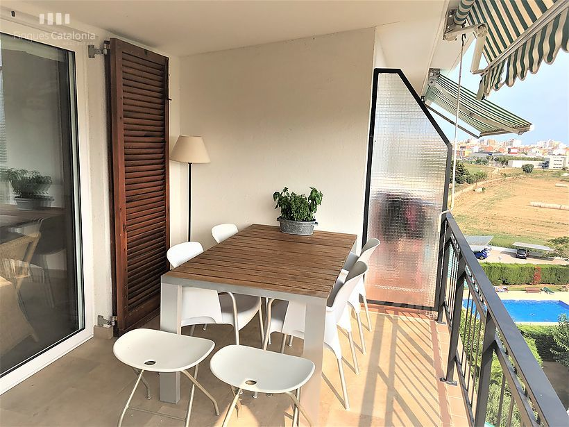 Apartment renovated with three rooms and swimming pools in Sant Antoni de Calonge