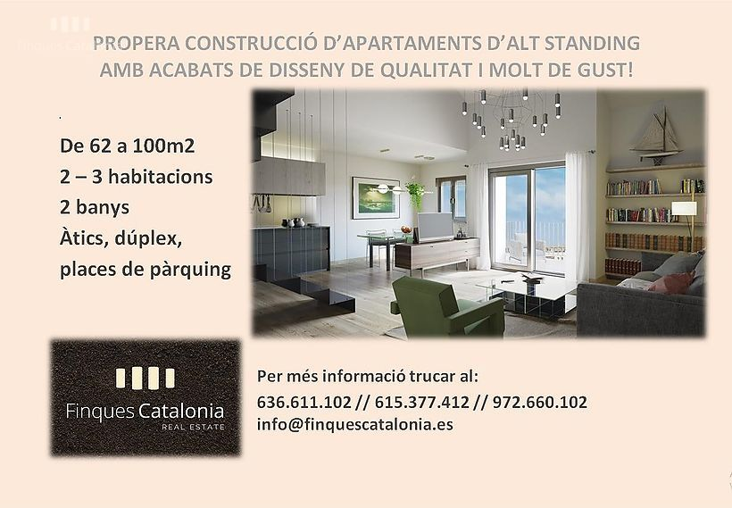 Next construction of apartments d'alt Standing in Sant Antoni de Calonge